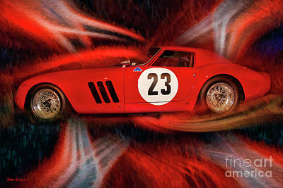 Photograph - 1962 Ferrari 250 Gto by Blake Richards