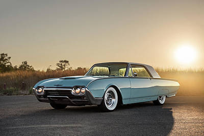 Photograph - 1962 Ford Thunderbird by Drew Phillips