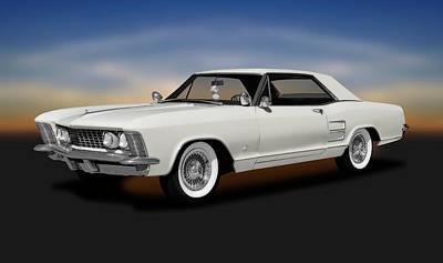 Photograph - 1963 Buick Riviera  -  1963buickriveriahardtopcoupe170799 by Frank J Benz