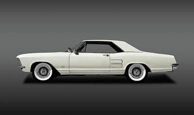 Photograph - 1963 Buick Riviera  -  1963buickriveriahdtpcpefa170813 by Frank J Benz