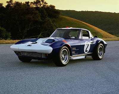 Photograph - 1963 Chevrolet Corvette Grand Sport by Car Culture
