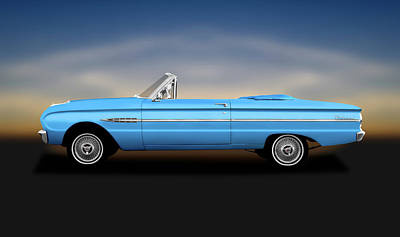 Photograph - 1963 Ford Falcon Futura  -  1963fordfalconfutura196286 by Frank J Benz