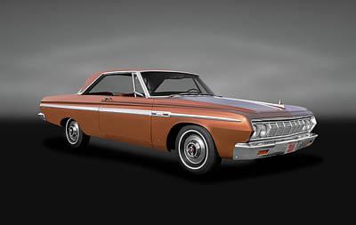 Photograph - 1964 Plymouth Sport Fury  -  1964plymouthsportfurygray140906 by Frank J Benz