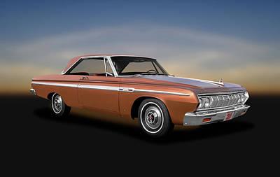 Photograph - 1964 Plymouth Sport Fury  -  1964plymouthsportfuryhdtp140906 by Frank J Benz
