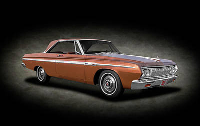Photograph - 1964 Plymouth Sport Fury  -  1964plymouthsportfuryspttext140906 by Frank J Benz