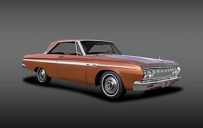 Photograph - 1964 Plymouth Sport Fury  -  Plymouth1964sportfuryhdtpfa140906 by Frank J Benz