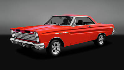 Photograph - 1965 Mercury Comet Caliente  -  1965merccometcalgry173387 by Frank J Benz