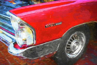 Photograph - 1965 Pontiac Catalina 2 Plus 2 004 by Rich Franco