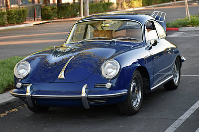 Photograph - 1965 Porsche 356c by Bill Dutting