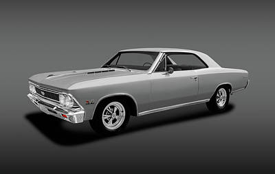 Photograph - 1966 Chevrolet Chevelle Super Sport Ss-396 Hardtop  -  1966chevelle396supersporthdtpfa153806 by Frank J Benz