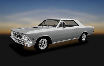Photograph - 1966 Chevrolet Chevelle Super Sport Ss-396 Hardtop  -  1966chevellesupersport396 by Frank J Benz