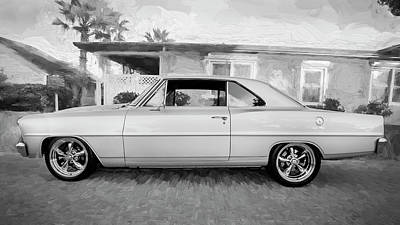 Photograph - 1966 Chevrolet Nova Super Sport 002 by Rich Franco