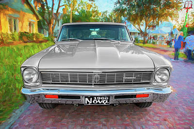 Photograph - 1966 Chevrolet Nova Super Sport 003 by Rich Franco