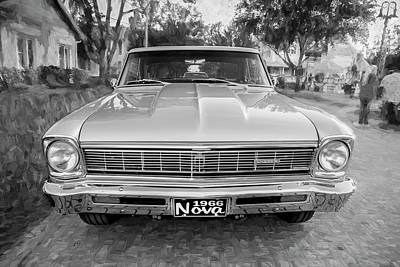 Photograph - 1966 Chevrolet Nova Super Sport 004 by Rich Franco