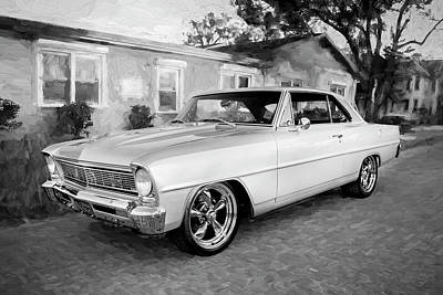 Photograph - 1966 Chevrolet Nova Super Sport 005 by Rich Franco