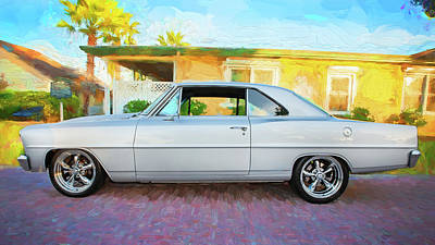 Photograph - 1966 Chevrolet Nova Super Sport 001 by Rich Franco
