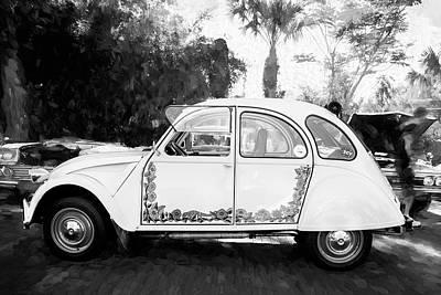Photograph - 1966 Citroen Cv 2 500 by Rich Franco