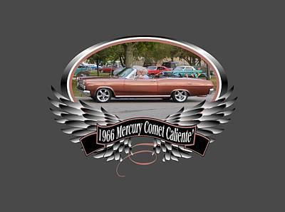 Photograph - 1966 Mercury Comet Caliente Blake by Mobile Event Photo Car Show Photography