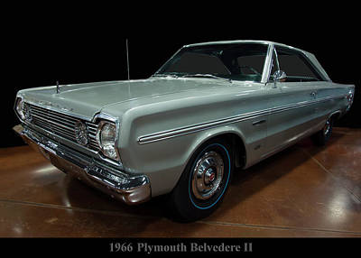 Photograph - 1966 Plymouth Belvedere II by Chris Flees