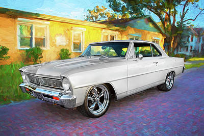 Photograph - 1966 Chevrolet Nova Super Sport 006 by Rich Franco