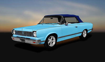 Photograph - 1967 Amc Rambler Rogue Convertible  -  1967amcramblerroguecv186000 by Frank J Benz