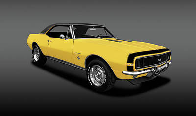 Photograph - 1967 Chevrolet Camaro Super Sport Coupe  -  1967chevycamarosscoupefa141922 by Frank J Benz