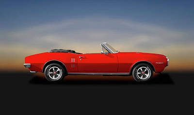 Photograph - 1967 Pontiac Firebird 400 Convertible  -  1967pontiacfirebird400convertible186049 by Frank J Benz