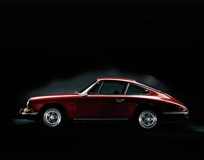 Photograph - 1967 Porsche 911 by Heritage Images