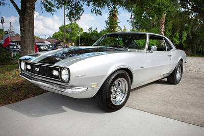 Photograph - 1968 Chevrolet Camaro 350 Ss  A101 by Rich Franco