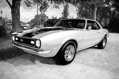 Photograph - 1968 Chevrolet Camaro 350 Ss  A102 by Rich Franco