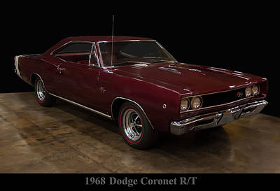 Photograph - 1968 Dodge Coronet Rt by Chris Flees