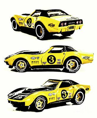 Photograph - 1969 Chevrolet Copo Corvette by Jorgo Photography - Wall Art Gallery