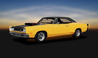 Photograph - 1969 Dodge Super Bee 440 Six Pack  -  1969dodgesuperbee440sixpack186261 by Frank J Benz