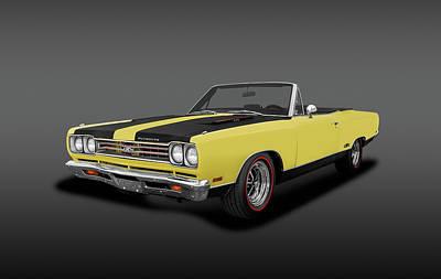 Photograph - 1969 Plymouth Gtx 440 Convertible   -  1969gtx440plymouthconvertfa155924 by Frank J Benz