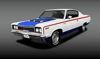 Photograph - 1970 Amc Rebel Machine Hardtop  -  1970rebelthemachinehdptfa141885 by Frank J Benz