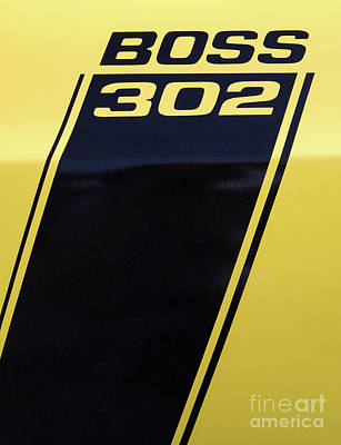 Photograph - 1970 Ford Mustang Boss 302 by Kevin McCarthy