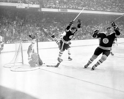 Photograph - 1970 Stanley Cup Finals - Game 4 St by B Bennett