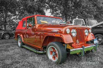 Photograph - 1971 Jeepster Commando by Tony Baca
