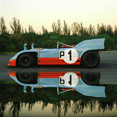 Photograph - 1971 Porsche 90803 by Car Culture