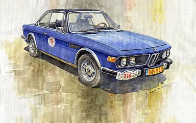 1972 Bmw 3.0 Csi Coupe  Original