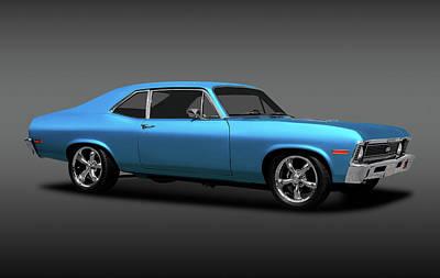 Photograph - 1972 Chevrolet Nova Super Sport  -  1972chevroletsupersportnovafa170749 by Frank J Benz