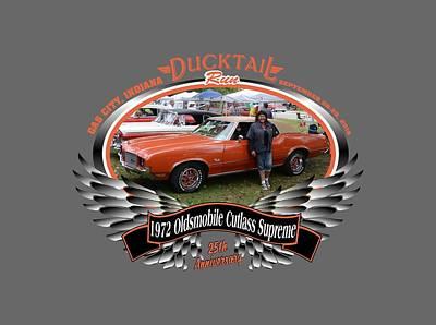 Photograph - 1972 Oldsmobile Cutlass Supreme Mcbride by Mobile Event Photo Car Show Photography