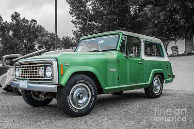Photograph - 1973 Jeep Commando by Tony Baca