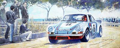 1973 Targa Floria Porsche 911 Carrera Rsr Martini Racing Lennep Muller Winner  Original