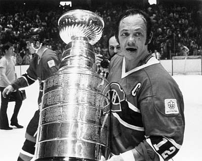 Photograph - 1976 Stanley Cup Finals - Game 4 by B Bennett