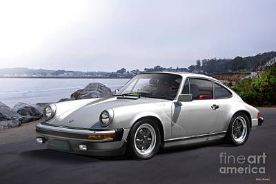 Sports Royalty-Free and Rights-Managed Images - 1982 Porsche 911 SC by Dave Koontz