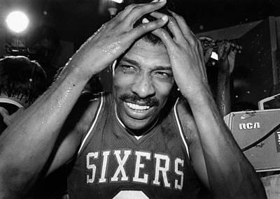 Photograph - 1983 Nba Finals Game 4 Philadelphia by Nba Photos