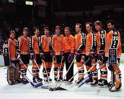 Nhl Photograph - 1986 38th Nhl All-star Game Campbell by B Bennett