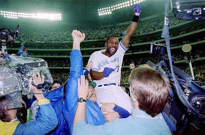 Photograph - 1993 World Series - Game Six by Rick Stewart