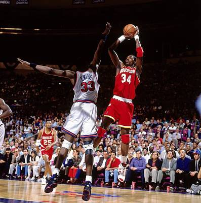 Photograph - 1994 Nba Finals - Game 3  Houston by Nathaniel S. Butler